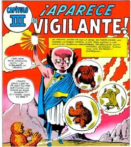 Primera aparición de El Vigilante
